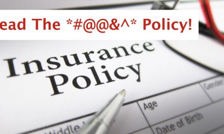 "Does ""AN"" Insurance Policy Cover…?"