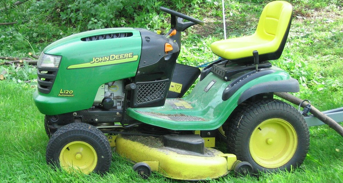 Are Riding Lawn Mowers Covered by Homeowners Policies?