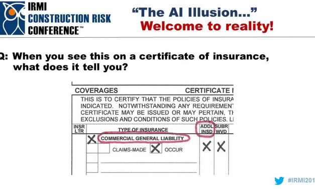 Certificates of Insurance and Agent vs. Insurer Liability