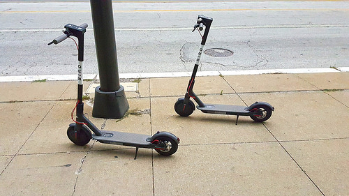 The Scooter Craze and Insurance